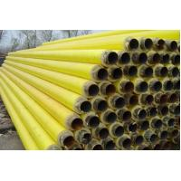 API 5L / API 5CT Yellow Foamed Insulation Steel Pipe For Oil or Gas Pipeline