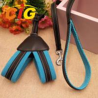 Buy cheap Dog Chain Leash Traction Rope Safety Pet Polyester Harness Leash For Dog product