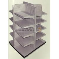 4 Way Medicine Pharmacy / Supermarket Display Racks ISO9001 Certification