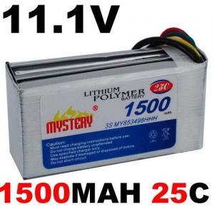 Buy cheap 1500mAh 11.1V 25c Lipolymer Battery Lipo Battery product