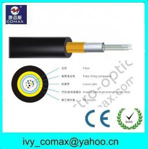 Buy cheap Cable de fibra óptica del modo 50/125 multi de la base de la antena 6/8/12 (GYFXY-2) product