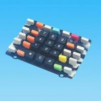 Buy cheap Silicon Rubber Keypad with 7 Base Colors product