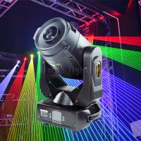 Buy cheap 2W/4W RGB Colorful Rotating DMX Zoom Moving Head Stage Laser Light product
