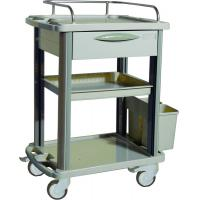 Buy cheap Removable Plastic Medical Trolleys For Home / Clinic Ambulance product