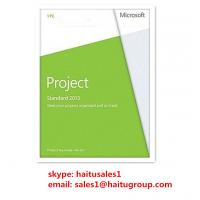 Buy cheap Project Standard 2013 FPP Key For Microsoft Office product
