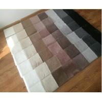 Buy cheap Black/Brown/Gray/Red/White Faux rabbit fur carpet 100% Polyester rug carpet for kids room living room bed room product