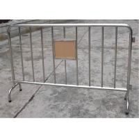 Buy cheap Hot Dipped Galvanized Crowd Control Barirers Smart Design,Crowd Control from wholesalers