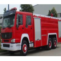 Buy cheap Manual Transmission Type Fire Extinguisher Truck / Fire Fighting Vehicles 20.000 Liters product