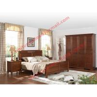 Buy cheap English Country Style Solid Wood Bed in Wooden Bedroom Furniture sets product