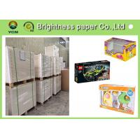 Virgin Wood Pulp C1s Folding Box Board Coated Paper With Full Gsm