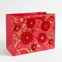 Buy cheap 157 Gram Art Paper Gift Bags Custom Printed  from wholesalers