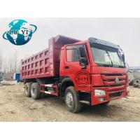 Buy cheap China used Sinotruk 371hp 375hp howo dumper lorry tractor dump truck product