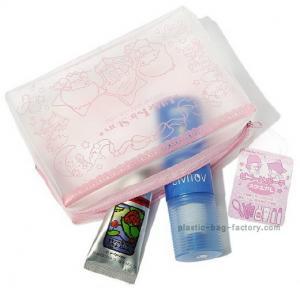 Buy cheap Os sacos cosméticos das senhoras completas de EVA da vaquinha da impressão olá!/PVC, pequenos compõem sacos product