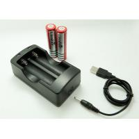 Buy cheap Input 5 V Output 4.2 V  Battery Charger For 2 X 18650 Li Ion Battery With USB Cable product