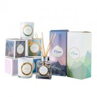 Buy cheap HOT Selling scented candles & reed diffuser fragrance gift set with glass bottle product