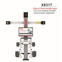Buy cheap Original LAUNCH X831T 3D 4-Post Car Alignment Lifts Platform Classic Fixed Height Type 32inch Display Screen Dual-Screen product