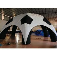 Buy cheap Outdoor Games Inflatable Event Tent Football Style Airtight 8 X 8m High Durability product