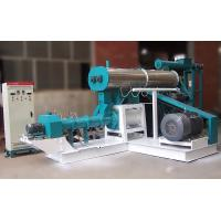 Buy cheap Wet Type Floating Fish Feed Pellet Machine product
