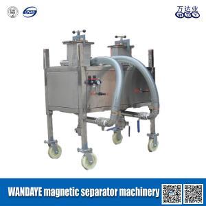 Buy cheap 永久的で高い勾配の倍キャビティ ステンレス鋼の磁気分離器機械 product