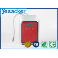 China Home Silver Alkaline Water Ionizer Machine With Uf Filter And Carbon on sale