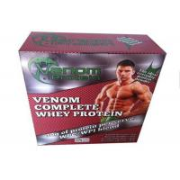 Buy cheap Whey Protein Packaging Paper Square Box / Pharma Box Embossing And Debossing Finish product