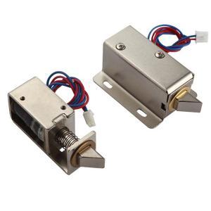 ドア ロックのためのボルトが付いている12V/24V DCのソレノイド ロック、キャビネット ロック、安全箱ロック