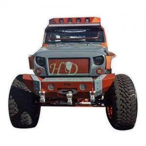 China Black Front Matte Grill Mesh Grille Avenger Spartan Fits Jeep Wrangler Sahara JK on sale