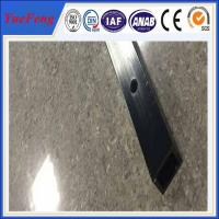 Buy cheap 6061 t6 aluminum quality factory square tube extrusion profile / cnc drilling square tube product