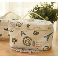 Buy cheap Portable floral bag multi-functional cosmetic bag storage bag product