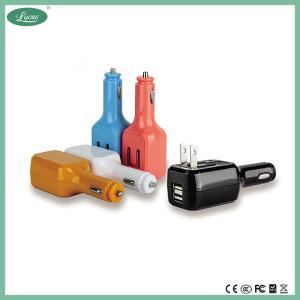 Buy cheap 2.1A se doblan cargador del enchufe USB para los teléfonos elegantes product
