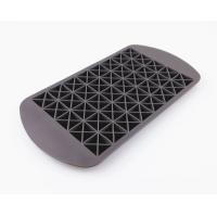 China 160 Silicone Mini Ice Cube Tray , Flexible Triangle Silicone Ice Cube Molds on sale