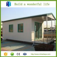 Buy cheap Popular 3 bedroom prefab modular home prefabricated steel house 71.58 m2 plans product