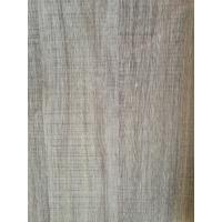 Buy cheap Printed Grey Wood Grain Decorative Paper Surface Abrasion Resistance 500kg / Roll product