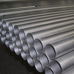 China Tubulação sem emenda Titanium da GR 2, da GR 5 laminada a alta temperatura e ASTM B338 wholesale
