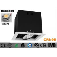 China Square High CRI 95 Aluminum XICATO COB High Performance 30W With Junction Box LED Downlight wholesale