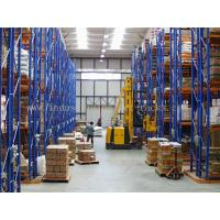 Buy cheap 5 Beam Level Very Narrow Aisle Racking 16.5 FT Height Palletised Warehouse System from wholesalers
