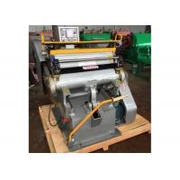 Buy cheap Semi Automatic Paper Die Cutting Machine High Strength With Electrical System product
