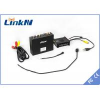 Buy cheap 150Ms Latency Hdmi + Av Cofdm Video Transmitter Wireless Adjustable Frequency product