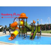 Buy cheap Promotional Water Park Playground Equipment Plastic Reliable Long Life Span product