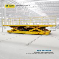 Buy cheap Material Handling Lifting Material Transfer Cart With Scissor Lifting Table product