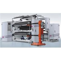 Buy cheap Adhesive Paper / Film Roll Label Rewinder Machine Perfect Integration Design product