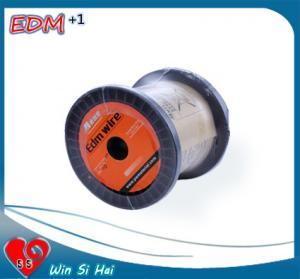 Buy cheap Alambre de cobre amarillo 0.25m m de los materiales consumibles EDM del alambre EDM de la máquina del corte EDM del alambre en plata from wholesalers