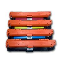 Buy cheap Recycled HP 650A CE270A CE271A CE272A CE273A Color Toner Cartridges product