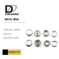 Buy cheap Metal Clothing Small Prong Snap Button product