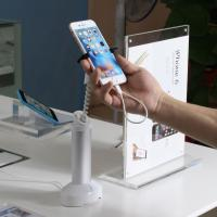 Buy cheap COMER gripper mobile phone security charging holder product