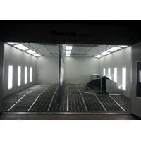 China Inner Ramp High Precision Automotive Paint Booth Plans Auto Paint Room on sale