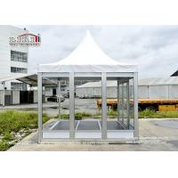 Buy cheap Multifunctional Outdoor Event Tents With PVC Roof 850g/Sqm Glass Sidewall product