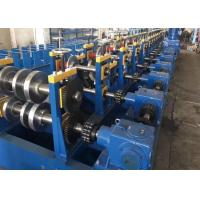 Buy cheap 10m/min 1.5-2mm galvanized Guide Rail Roll Forming Servo Feeder Power 1.5Kw from wholesalers