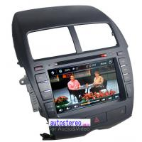 mitsubishi asx rvr in car dvd player with radio steering. Black Bedroom Furniture Sets. Home Design Ideas