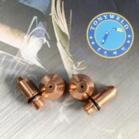 Buy cheap Air Plasma Cutting Machine Plasma Cutter Spare Parts Yueyang160 Nozzle And Electrode product